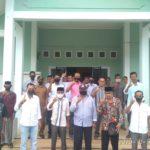 Ket Foto: Forum Keuchik se-Kecamatan Seunagan Timur, Usai Konferensi Pers di kantor Camat